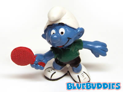 20227 table tennis smurf